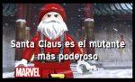 ¡Santa Claus e el mutante mas poderoso de todos!
